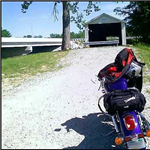 Motorcycle Ride Picture 1 for Troy-Hoffman Covered Bridge-Bristow-St. Meinard