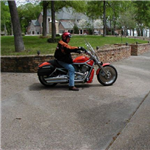 Motorcycle Ride Picture 1 for Two ST's and Two HD's Tour Teague, TEXAS
