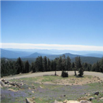 Motorcycle Ride Picture 1 for Truckee to Oroville Gold Coountry Casino via MT LASSEN NATIONAL PARK