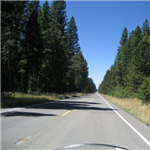 Motorcycle Ride Picture 5 for Truckee to Oroville Gold Coountry Casino via MT LASSEN NATIONAL PARK