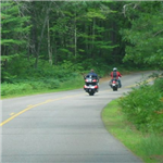 Motorcycle Ride Picture 1 for Vilas County - Boulder Junction Wisconsin