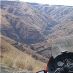 Motorcycle Ride Picture 1 for Spokane, WA to Red Lodg, MT va Hell's Cyn and Yellowstone