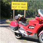 Motorcycle Ride Picture 4 for Spokane, WA to Red Lodg, MT va Hell's Cyn and Yellowstone
