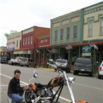 Motorcycle Ride Picture 3 for Plains Ga.  Pres Jimmie Cater bike and cr show