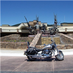 Motorcycle Ride Picture 1 for Alamogordo to Inn of the Moutain Gods