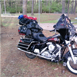 Motorcycle Ride Picture 1 for Lake of the Pines weekend camping