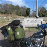 Motorcycle Ride Picture 5 for cemetery run