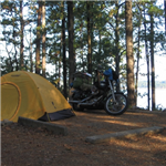 Motorcycle Ride Picture 1 for ramblin' round part 9 (nimrod lake)
