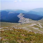 Motorcycle Ride Picture 1 for Transalpina Road - a race track to the clouds