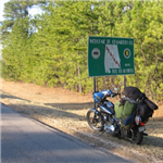 Motorcycle Ride Picture 4 for straight shot 'cross bama