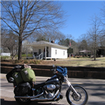 Motorcycle Ride Picture 2 for fulton ms to lake pointsett ar