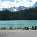Motorcycle Ride Picture 1 for Glacier Parkway, Banff to Jasper
