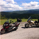 Motorcycle Ride Picture 2 for Fall Trip North Webster, Indiana to the Dragon, Blue Ridge Parkway & Skyline Drive