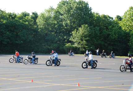At The Motorcyle Safety Foundation Day Two