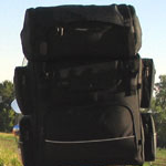 Photo for T-Bag Universal Lonestar Motorcycle Luggage: Transform Your Motorcycle into a Pack Mule