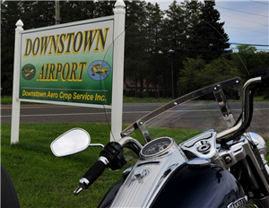 Motorcycle Tour to Vineland Downstown Airport