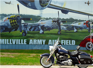 Motorcycle Route to Millville Airport
