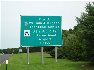 Hughes Technical Center and ATL Sign